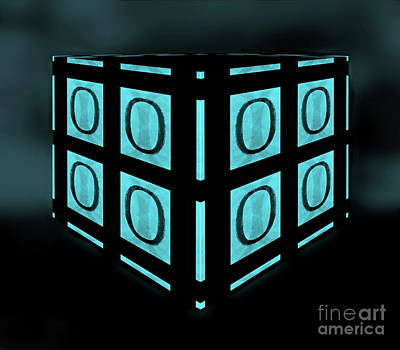 Digital Art - Your Matrix Cube 2 by Tim Richards