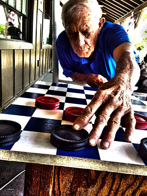 Photograph - Your Move Dad by Lesa Fine