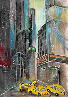 Your Own Broadway Art Print by Angela Schramm