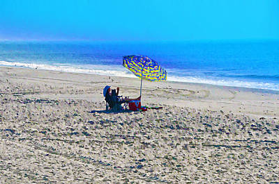 Ocean Photograph - Your Own Private Beach by Bill Cannon