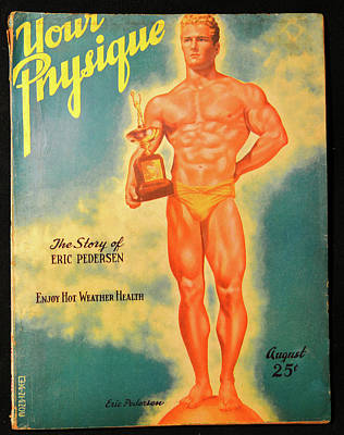 Photograph - Your Physique Mag 1940s by David Lee Thompson