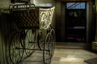 Haunted Mansion Digital Art - Your Pram Awaits by Nathan Wright