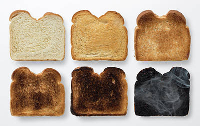Youre Toast Art Print by Steve Gadomski