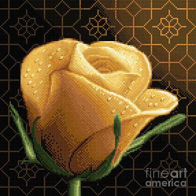 Your Rose Art Print by Stoyanka Ivanova
