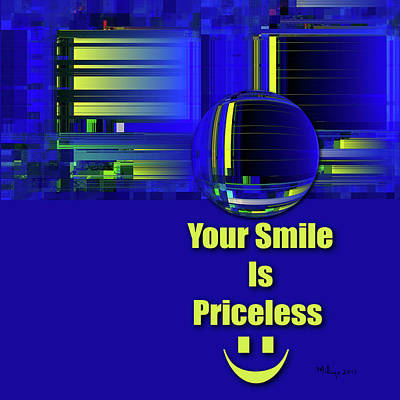 Digital Art - Your Smile by Mike Butler