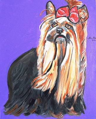 Painting - Your Yorkie by Nora Shepley