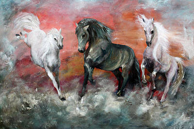 Painting - Diablo's Return by Barbie Batson