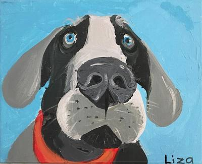 Easterseals Painting - You're Leaving? by Liza B