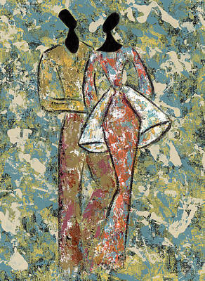 African-american Painting - You're The One by Pamela Hilliard