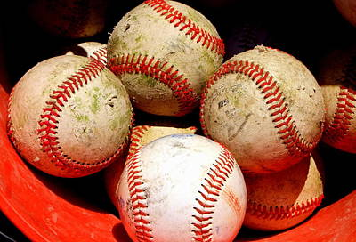 Photograph - Youth Baseball 6 by David Gilbert