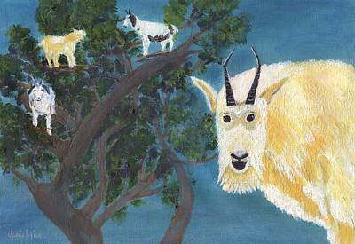 Painting - You've Goat To Be Kidding by Jamie Frier