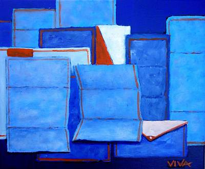 Painting - You've Got Mail- 2 by VIVA Anderson