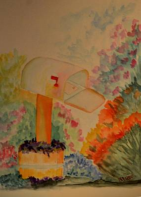 Painting - You've Got Mail by Maria Urso