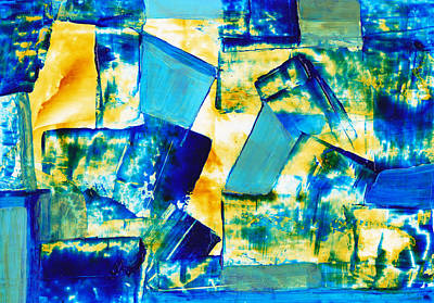 Painting - Yp-010 by LAF Art