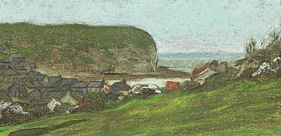 Claude Painting -   Yport Et Falaise by MotionAge Designs