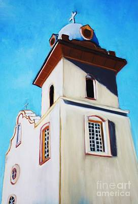 Painting - Ysleta Mission by Melinda Etzold