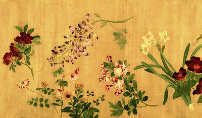 Yuan's Hundred Flowers Art Print