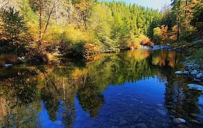 Photograph - Yuba In Autumn by Sean Sarsfield