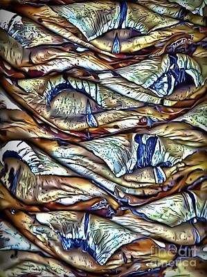 Photograph - Yucca Core by Walt Foegelle