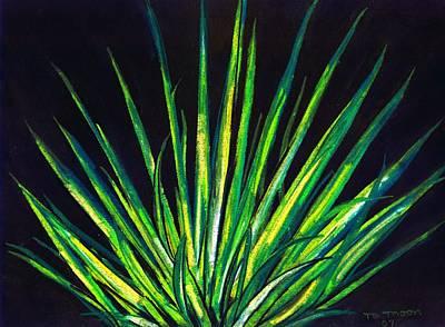 Yucca Art Print by Melvin Moon