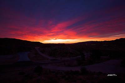 Digital Art - Yucca Sunrise by Justin Hiatt