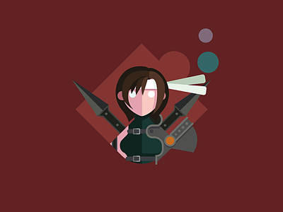 Digital Art - Yuffie by Michael Myers