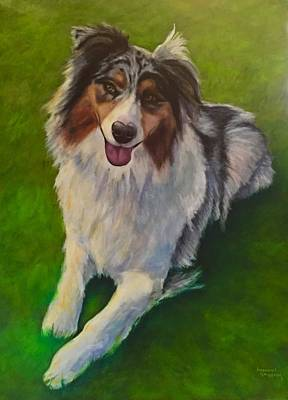 Painting - Yuki by Shannon Grissom