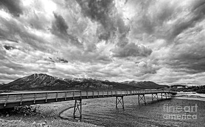 Photograph - Yukon Carcross Bridge by Charline Xia