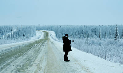 Photograph - Yukon Desolate Like Minded Person by Phyllis Spoor