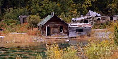 Photograph - Yukon Ghost Town by Lennie Malvone