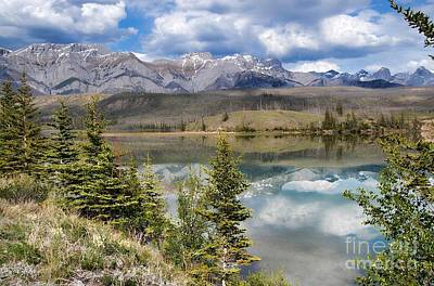 Photograph - Yukon Mountain Range by Dyle Warren