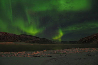 Photograph - Yukon Northern Lights 5 by Phyllis Spoor
