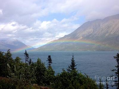 Photograph - Yukon Rainbow by Barbara Von Pagel