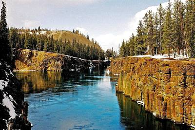 Photograph - Yukon River And Miles Canyon - Whitehorse by Juergen Weiss