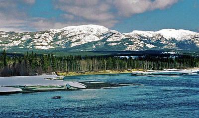 Yukon River Photograph - Yukon River by Juergen Weiss