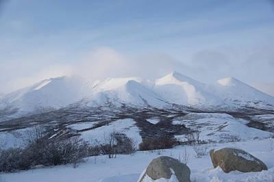 Photograph - Yukon Snow Scene Mystic by Phyllis Spoor