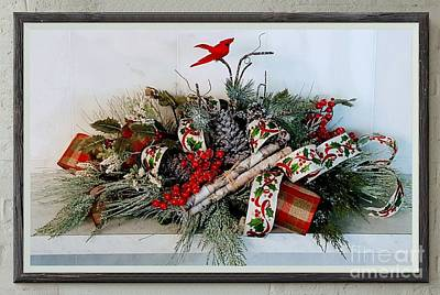 Photograph - Yule Tide Greetings by Rachel Hannah