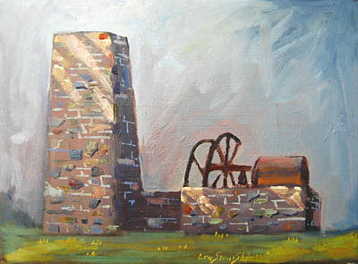 Painting - Yulee Sugar Mill Ruins by Len Stomski