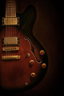 Epiphone Guitars Photograph - Yum.  by Jeff Mize