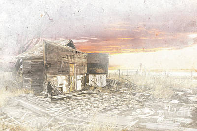 Digital Art - Yuma Co Oldie by Deborah Nakano