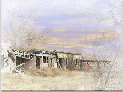 Digital Art - Yuma Settlement by Deborah Nakano