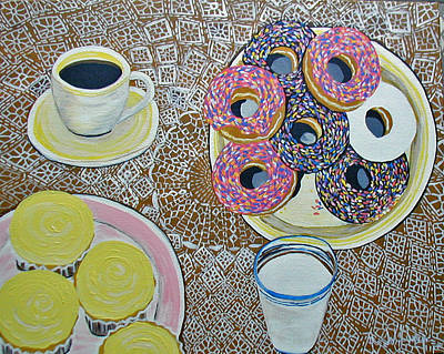 Yummy Art Print by Norma Tolliver