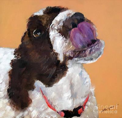 Painting - Yum..peanut Butter by Shelley Koopmann