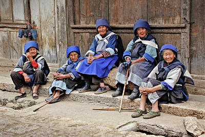 Photograph - Yunnan Women by Marla Craven