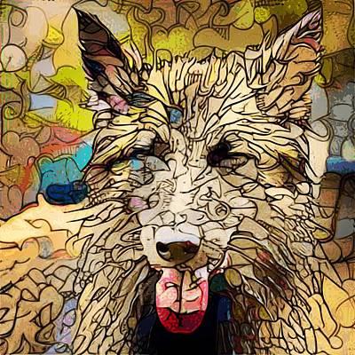 Digital Art - Yuri/Doodle by Matthew Daigle