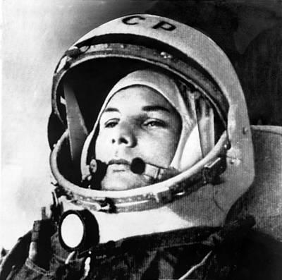 Yuri Photograph - Yuri Gagarin 1934-1968., Russian by Everett