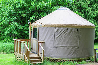 Photograph - Yurt by Tikvah's Hope
