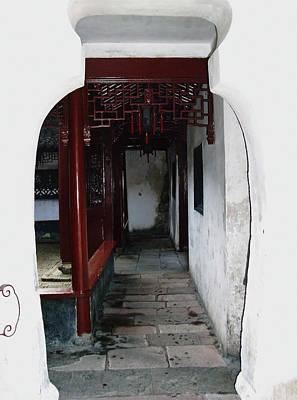 Photograph - Yuyuan Garden Arch - Shanghai by Debbie Oppermann