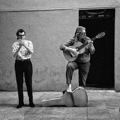 Guitar Photograph - Yves Saint Laurent Is Alive!! #people by Rafa Rivas
