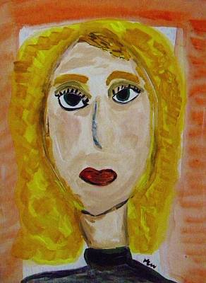 Painting - Yvette Laila by Mary Carol Williams